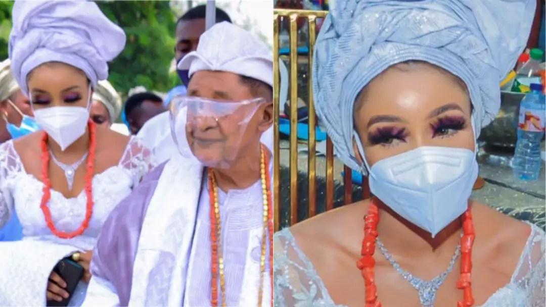 Alaafin of Oyo, 82 marries his 13th wife, Olori Chioma Adeyemi, 18