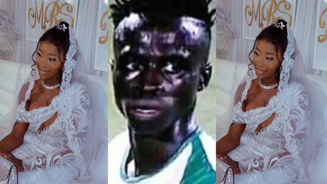 """""""World Ugliest Footballer"""" Krepin Diatta marries beautiful lady; many say she married him because of his money [Photos]"""