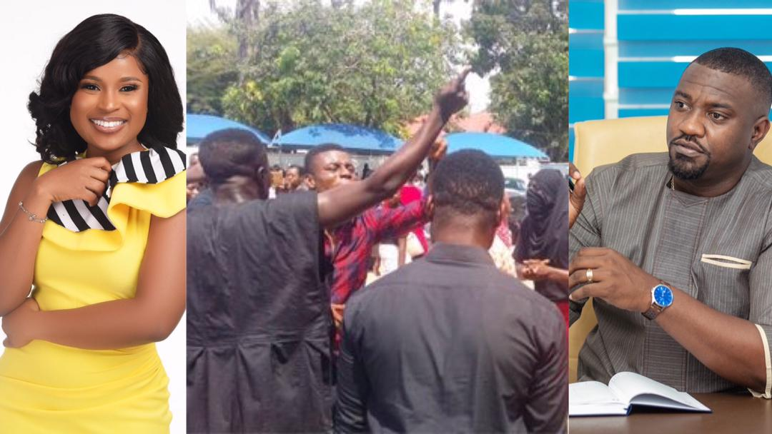#JusticeForGIJStuents: Berla Mundi, John Dumelo, others react to directive by GIJ to defer students' academic year over late payment of fees