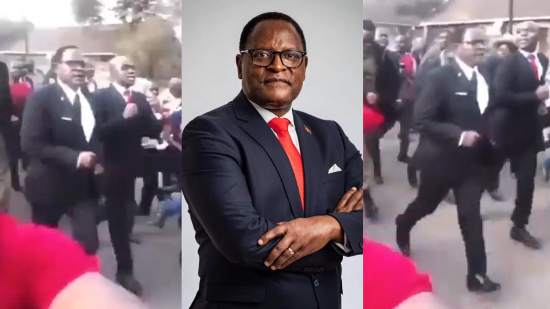 Malawian President Lazarus Chakwera hit the street to jubilate after his country qualified for AFCON 2022 [Video]