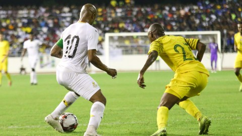 AFCON Qualifiers: Ghana plays South Africa at 4; starting lineups out