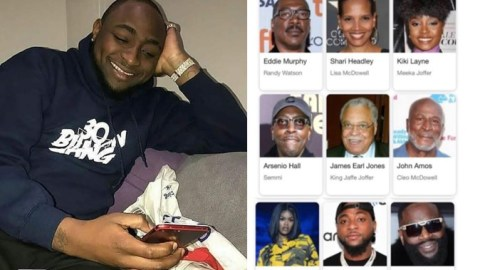 Davido Excited Over His Hollywood Debut As Coming To America 2 Is Set To Be Released