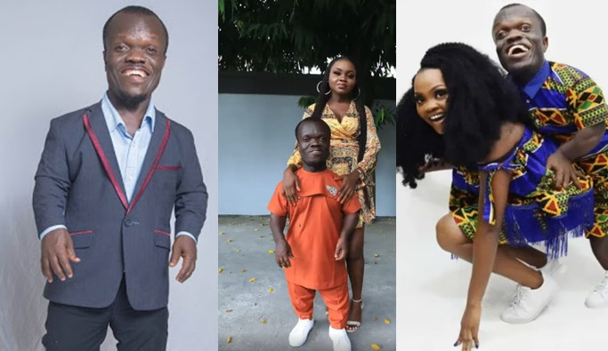 """""""I approached him first and made my intentions known"""" – Wife to diminutive actor narrates how their relationship started [Video]"""