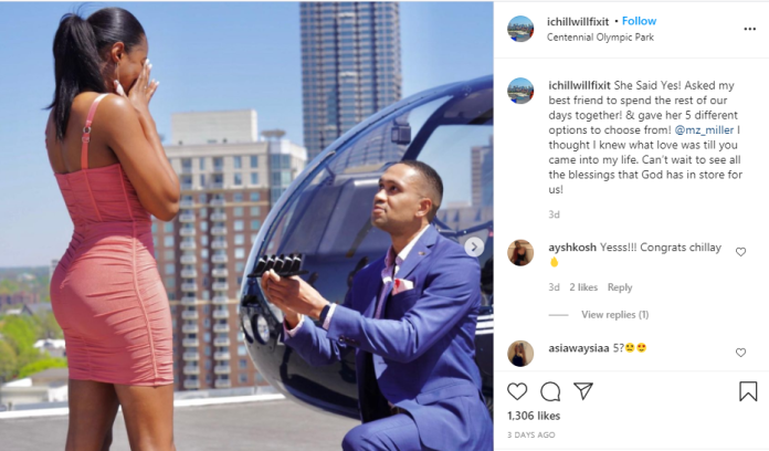 Man Proposes to his girlfriend with 5 different diamond rings (photos) 2