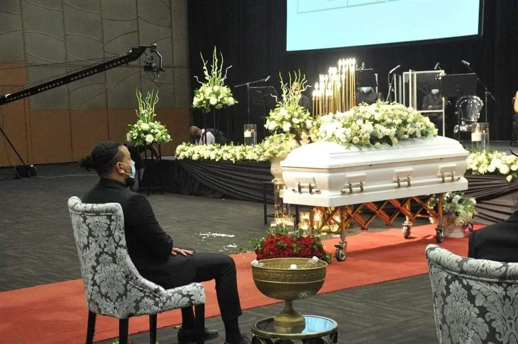 Rapper AKA's fiancée laid to rest