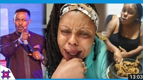 VIDEO: Nigel Gaisie And Lying Is Like East Legon Old Men & Chopping Of Small Girls – Afia Schwarzenegger Charges After Nigel Gaisie Revealed New Flagbearer Of NPP