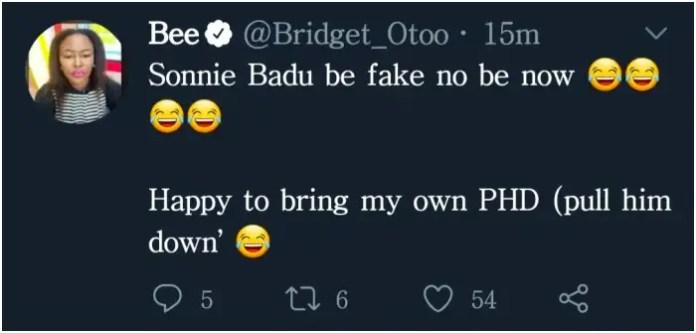 Sonnie Badu fake degrees