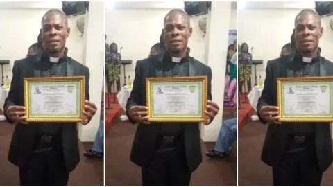 Photos: Veteran actor Waakye ordained full-time Reverend Minister