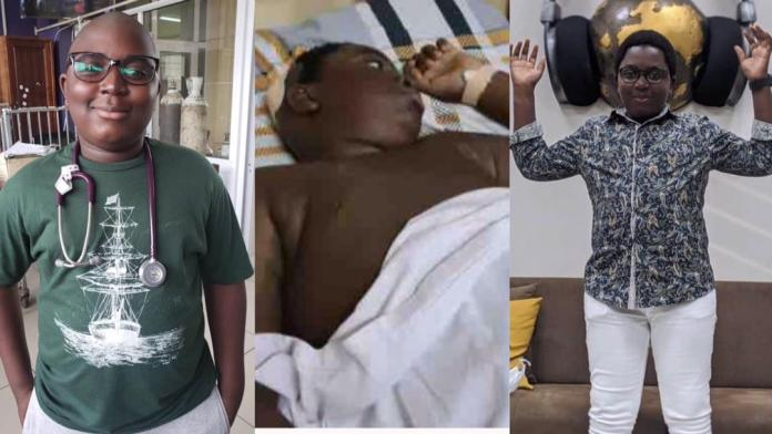 Michael Kofi Asiamah: 13-year-old brain tumour patient who Sarkodie donated $10K towards his surgery sadly dies