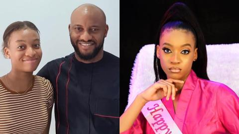 Meet Danielle, the beautiful daughter of Nigerian actor Yul Edochie as she turns 16 today