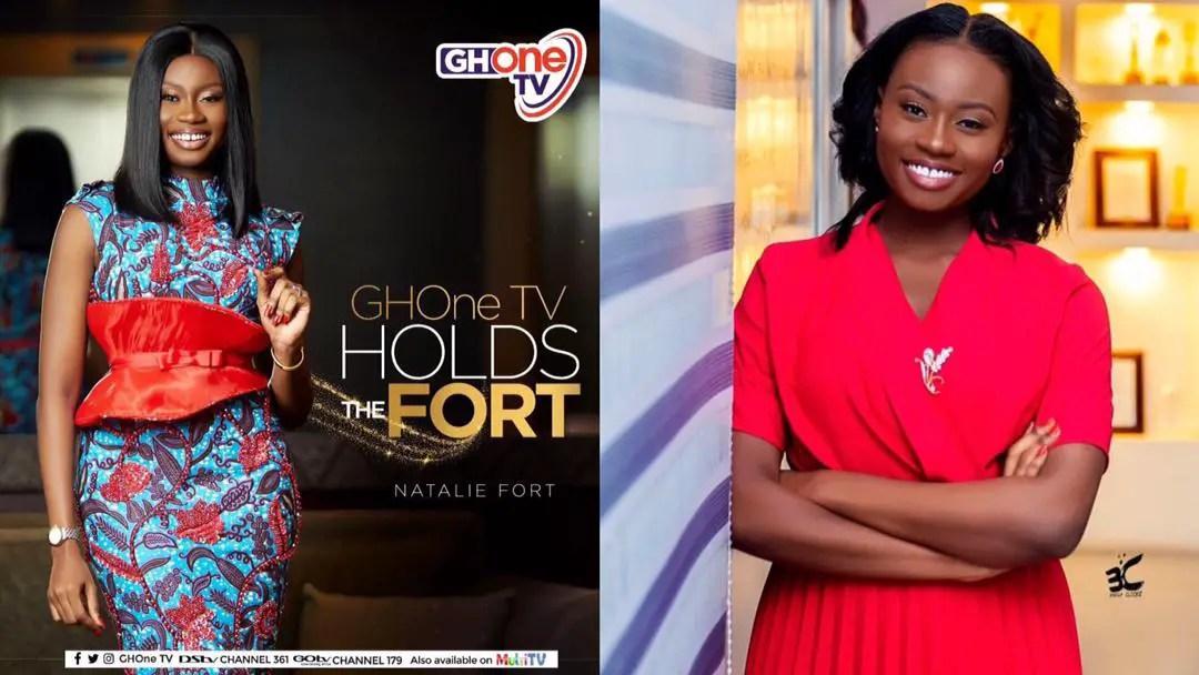 Weeks after leaving TV3, Natalie Fort joins GhOne TV [Watch]