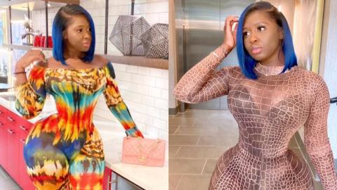 My heart is bleeding- Princess Shyngle breaks down on Instagram after she was hit with bad news