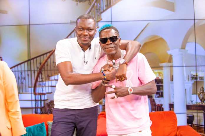 """""""You have earned our respect"""" – Ghanaians praise Arnold Asamoah Baidoo's maturity when he clashed with Shatta Wale on UTV"""