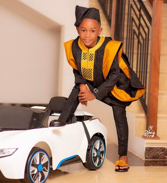 Akuapem Poloo Shares Sleek Photos Of Her Son On His Birthday 1