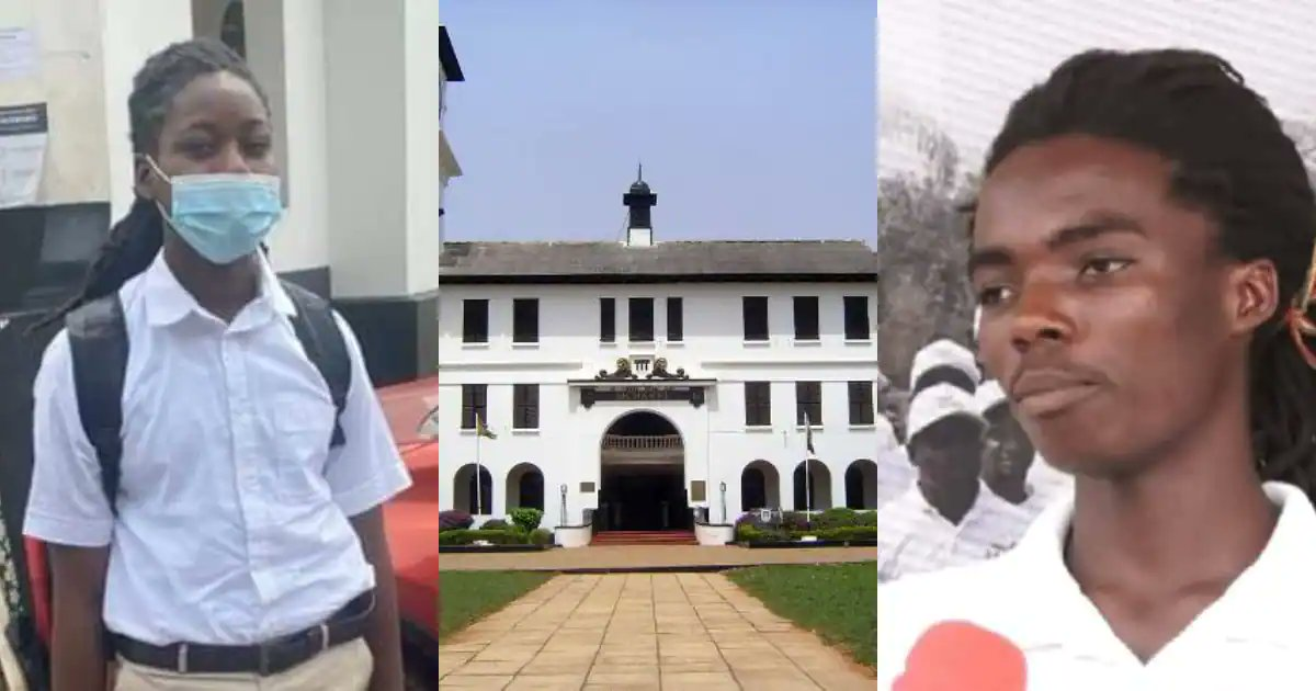 Rasta student, Tyrone Marhguy forced to take end of term exams hours after reporting to Achimota School