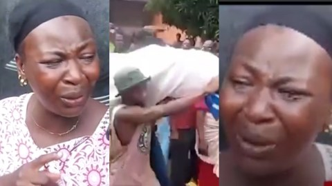 (+VIDEO) My Brother Was Killed On His Way To Buy Food, He Died Hungry And I Ask, Who Is Next? – Sister Of Shot Victim Quizzes