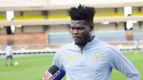 Just In: Arsenal midfielder, Thomas Partey reportedly sacked from Black Stars camp for indiscipline