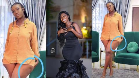 """""""Nobody can bring me down"""" – Hajia Bintu replies to trolls who mistook her cellulite to mean she has gone for liposuction to enhance her looks"""