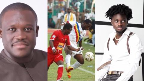 """""""Why are you so mad?"""" – Kuami Eugene replies Sam George for saying he will not be allowed to perform before Hearts vrs Kotoko match on Sunday"""