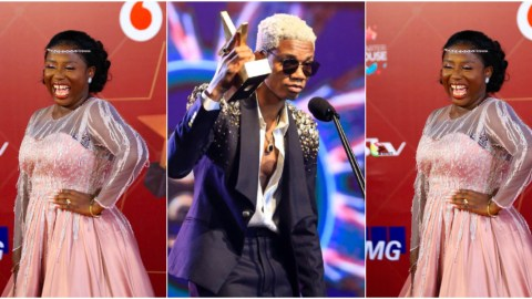 Ghanaians react after Diana Hamilton emerged artist of the year at 2021 VGMAs instead of KiDi