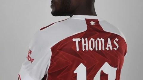 Thomas Partey Confirms New Jersey Number Next Season