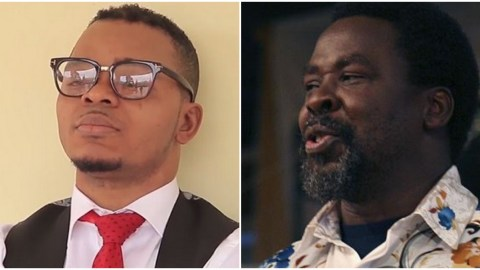 Is TB Joshua fake or genuine? Obinim finally passes judgment with his 'Oxford English' (Watch)
