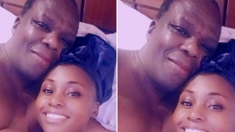 'Old men who know how to hit harder' — Lady says as she shares after s.ex photo of herself and sugar daddy