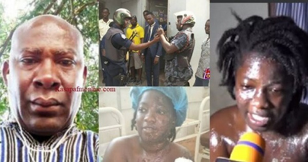 Ghanaian businessman, 54 sentenced to prison for bathing ex-girlfriend and mother with acid & istrate Court for filming and circulating n∨de videos on social media