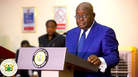 """""""Soon you'll not be employed if you can't speak French"""" – President Akufo-Addo"""