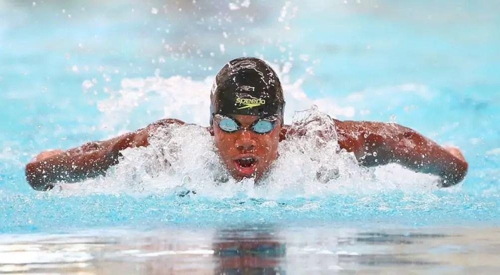 Tokyo Olympics 2020: Ghana's Abeiku Jackson wins men's 100m butterfly heat [VIDEO]