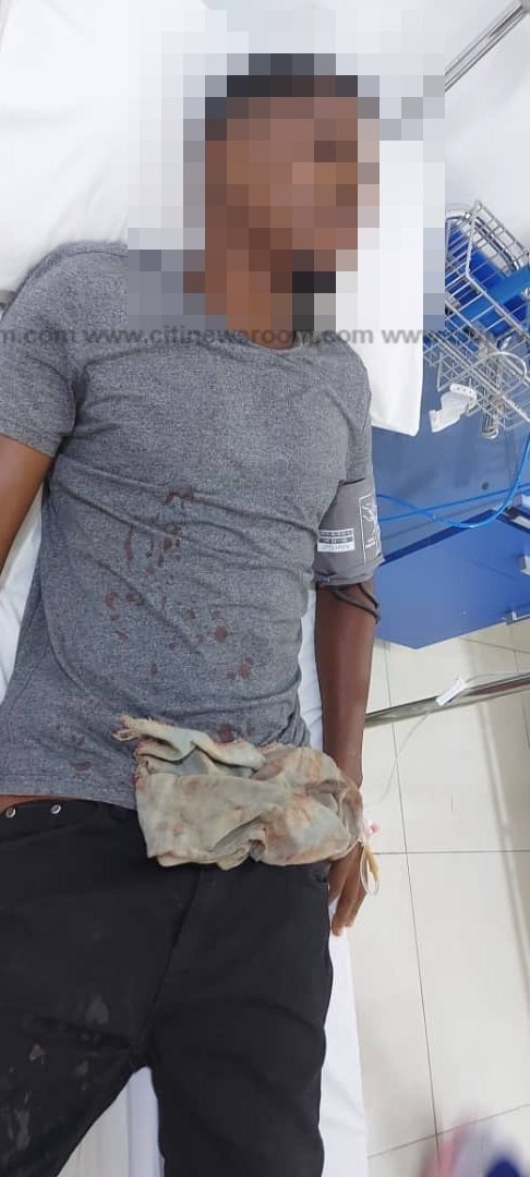 Accra: Motorcyclist shot by soldier in military pick-up vehicle at East Legon (Photos). 55