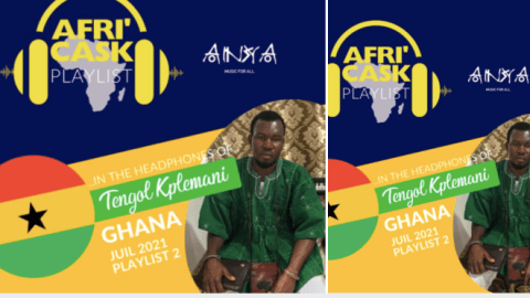 Tengol of The Taste of Afrika fame enlists 16 songs by Ghanaian artists as playlist for Moroccan's Afri'Cask channel