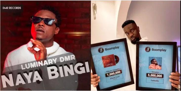 Luminary DMR's New EP, 'Naya Bingi' Beats Sarkodie' 'Highest' on Ghana iTunes Top Albums