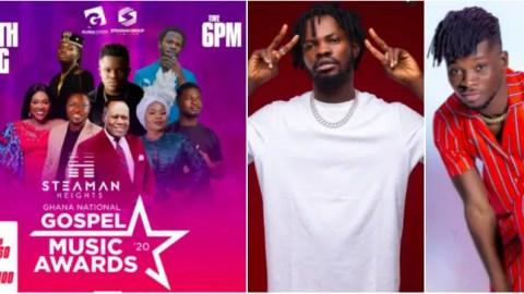 Music lovers blast organizers of Ghana National Gospel Music Awards for billing Fameye and Kuami Eugene to perform alongside spirit-filled Elder Mireku