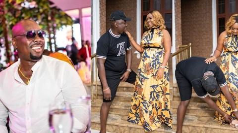 """""""I started dating my wife when I was living in a single room with no bed"""" – Nigerian billionaire, Obi Cubana shares his grass to grace story [Video]"""