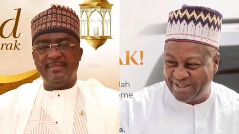 Plagiarism Alert: Did Bawumia 'copy' Mahama's Eid-ul-Adha message?