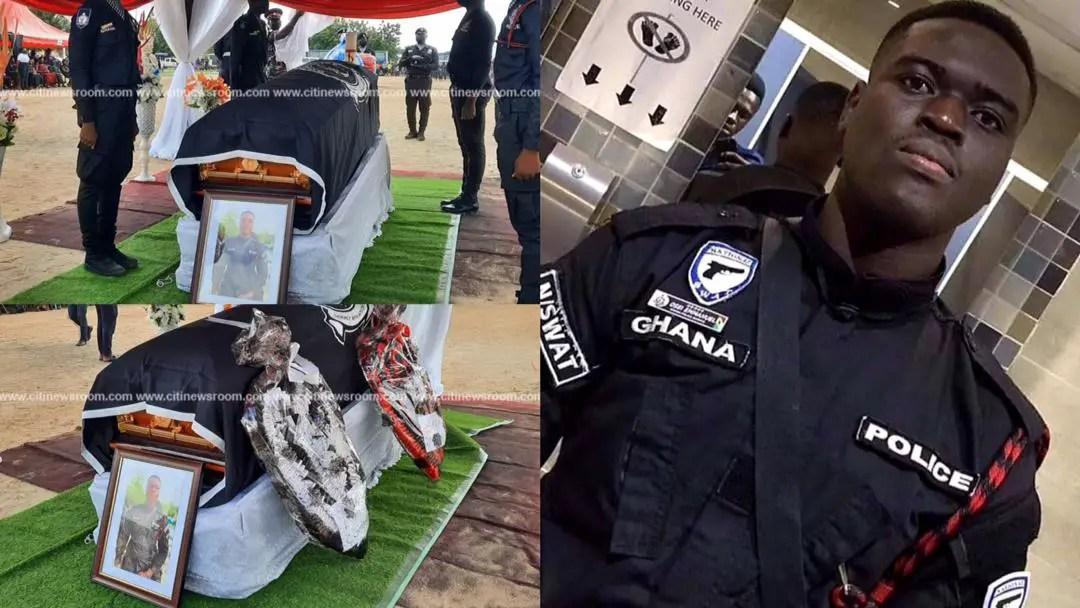 Bullion van attack: Slain police officer laid to rest [Photos]