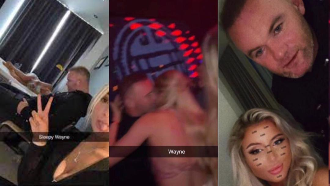 How fmr Man United star, Wayne Rooney passed out in hotel while having good time with sk!mpy-dressed ladies [Details]