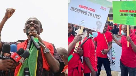 March for Justice: 'Arise and hold older generation accountable' – Asiedu Nketia charges Ghanaian youth