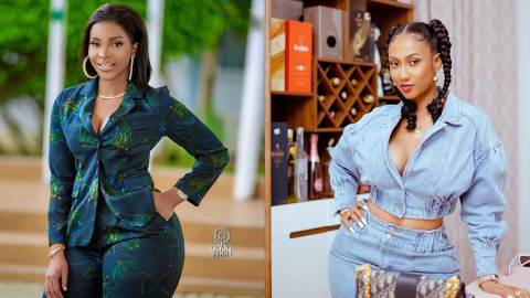 Benedicta Gafah allegedly snatches Hajia4Real's baby daddy, Latif