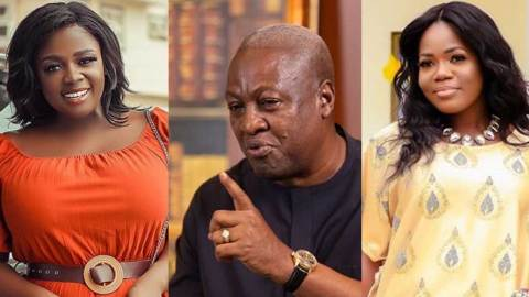 Angry Mzbel vows to release hardcore evidence about who Tracey Boakye's baby daddy is