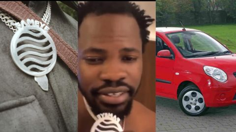 My Chains Are Not 'Alumi' It Can Buy An 'Uber Car' – Fameye Reacts To 'Alumi' Chains Tr0.ll  (video)