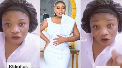 You Are M0cking My Eyes, But Your Own Friends Claim You Sm£ll Bad – Maa Linda To Afia Schwarzenegger