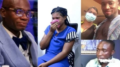 The Real Boyfriend Of Lady Impregnated By Dr. UN Says They Should Share And Take Care Of The SHS Girl Until She Gives Birth