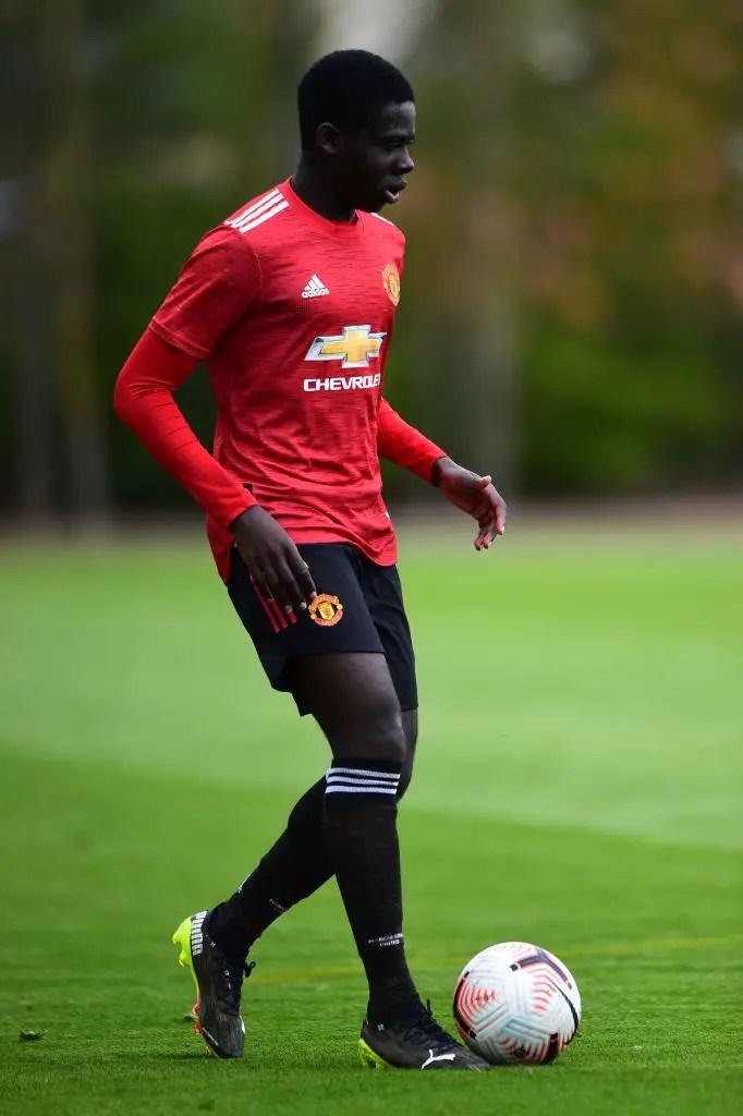 Manchester United sign 18-year-old UK-based Ghanaian midfielder Omari Forson. 49