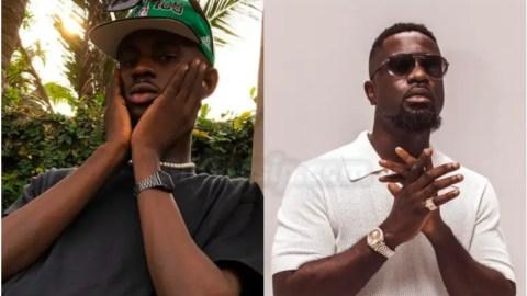 'Black Sherif is just pure talent' – Sarkodie admits