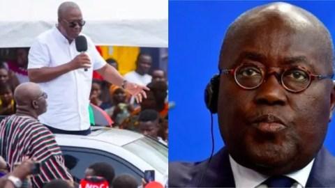 Agenda 111 is a move to cover up the 400 billion cedis public debt – Mahama 'exposes' Akufo Addo