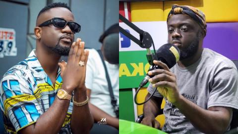 """His words are irrelevant to me, he's not worth my attention"""" – Sarkodie replies Kwadwo Sheldon [Video]"""