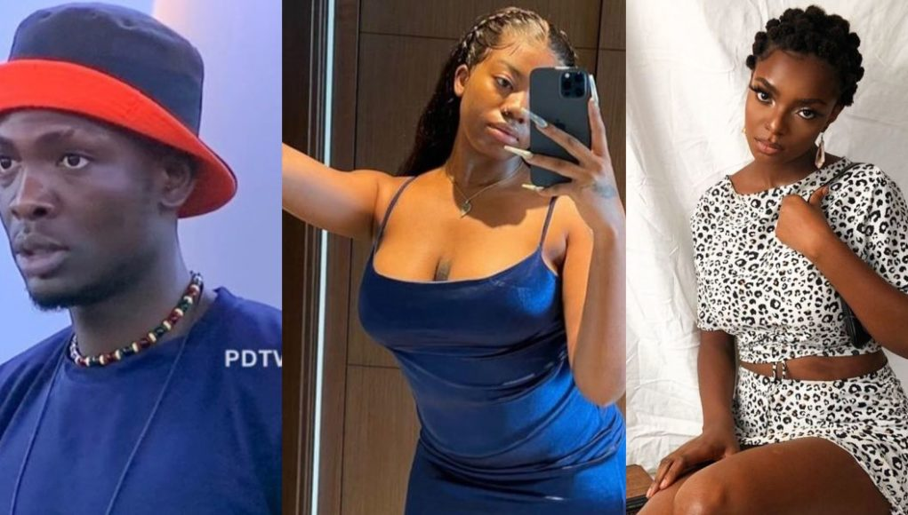 BBNaija 2021: Peace Trashes Sammie's Proposal, Tells Him To Flirt With His Chest If He's Going To Flirt With Her And Angel