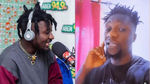 'Amerado has not responded to Obibini's diss song because he comes from Kumasi and never understood the English Obibini used'- Tweep mocks (Watch)